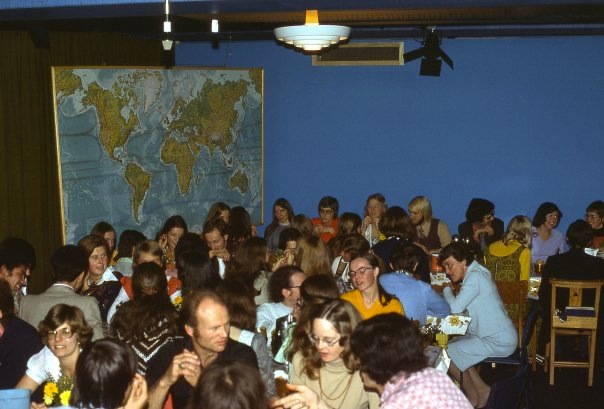 Love Feast at YWAM Lausanne in the 70s