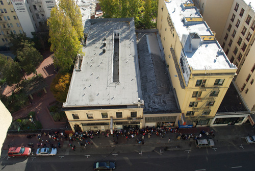 YWAM San Francisco Buildings from Above