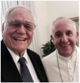 Loren Cunningham with Pope Francis