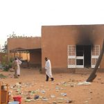 Niger House Burned