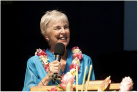 YWAM's Co-Founder Darlene Cunningham