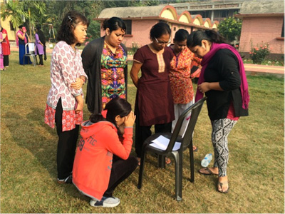 YWAM Durgapur, India prays for Africa
