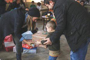 Germany Refugee Christmas Present