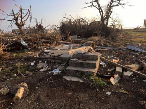 Remains of the Saranuku family home