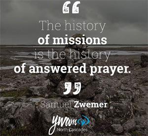 Samuel Zwemer Prayer Quote