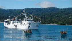 YWAM's Pacific Link ship in Papua New Guinea