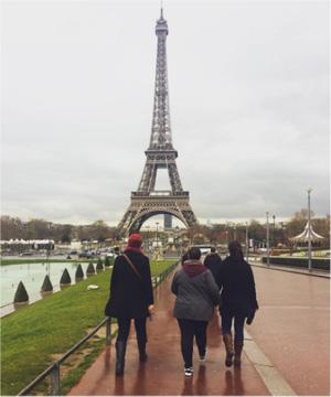 YWAM Discipleship Training School students in Paris