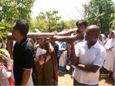 "YWAMers in India join Catholics and other Christians in a ""Way of the Cross"""