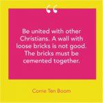 Unity Quote Corrie Ten Boom